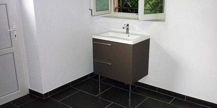 Conception d'une salle de bain