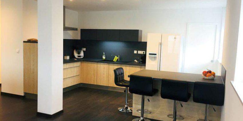 Construction complète d'un appartement de 100 m²