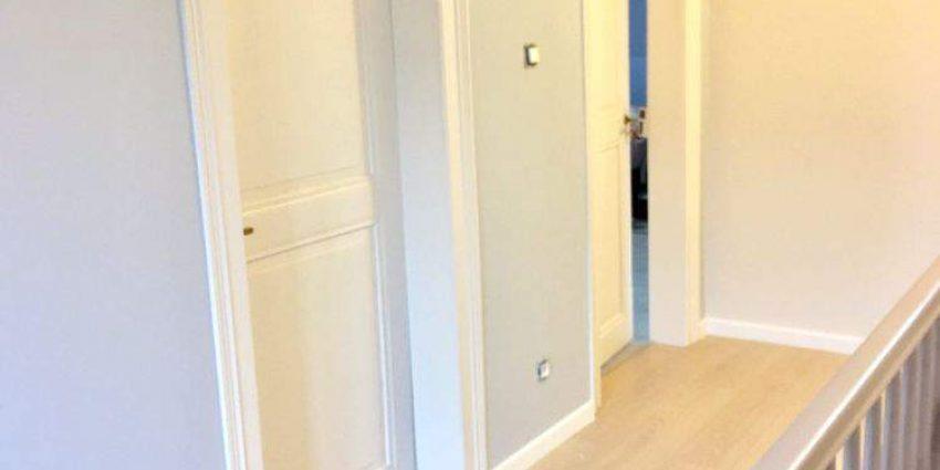 Rénovation d'un couloir et d'une cage d'escalier