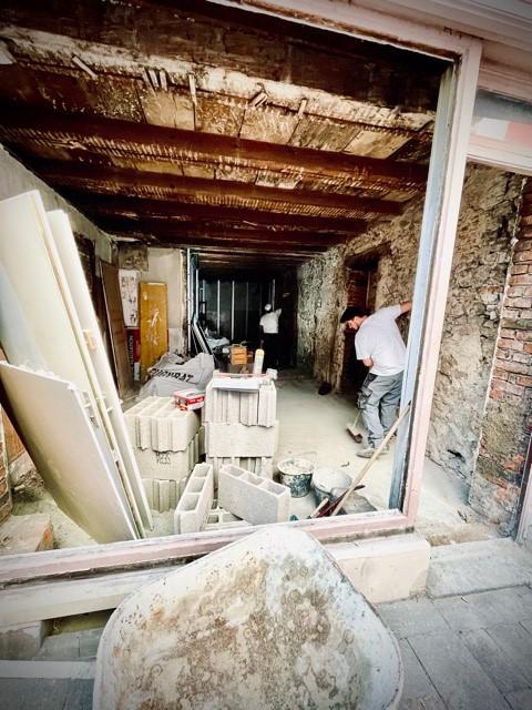 Rénovation d'une ancienne mercerie à Mulhouse