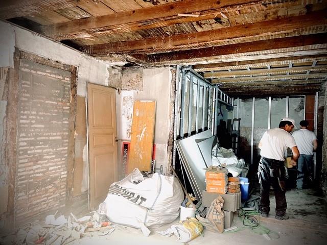 Travaux de rénovation à Mulhouse