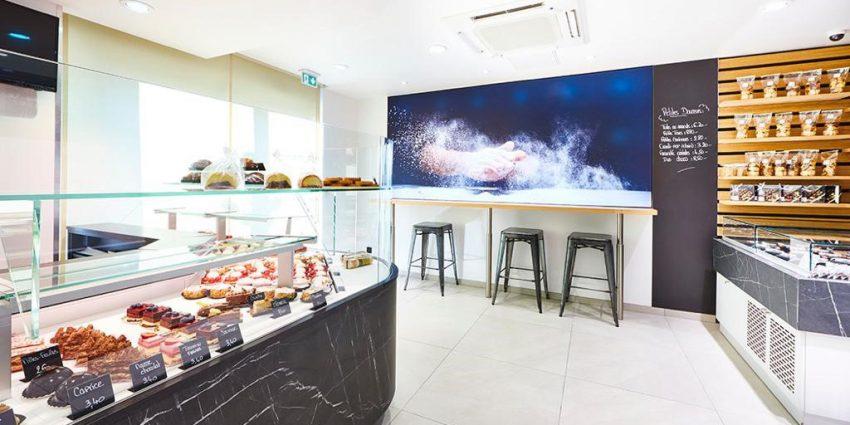 Rénovation d'une boulangerie pâtisserie
